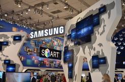 Der Messeauftritt von Samsung stand unter dem Motto