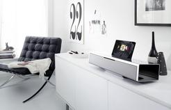 Hihghlight im Audio-Angebot von Loewe: Die SoundVision macht als Stand-alone-Gerät oder ins Heimnetzwerk integriert eine gute Figur.