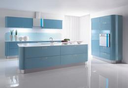 """Mittels """"MoodLite"""" Technologie kann sich die Gorenje-Küche KIRA ganz der individuellen Stimmung anpassen."""