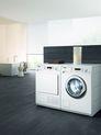 Eco W 5859 WPS LiquidWash und T 8801 WP EcoComfort harmonieren optisch in jeder Wohnung.