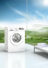 Die Waschmaschinen werden zwar effizienter, aber damit auch langsamer, befindet das Testmagazin Konsument. (Foto: Siemens)