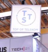 Ein neues Logo, einen Unternehmens-Relaunch und viele neue Produkte gab es bei Top Telekom zur Futura.