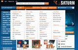 Auf der deutschen Saturn-Homepage gelangt man ab heute in den Webshop.