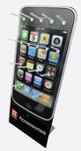 Gerne stellt Aqipa auch kostenlos ein Display im iPhone-Design zur Verfügung - kontaktieren Sie diesbezüglich einfach Ihren Aqipa Ansprechpartner oder wenden Sie sich direkt per Mail an info@aqipa.com