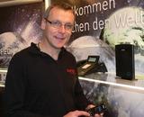 """Christian Wallisch, Leiter Großkundenvertrieb Süd/Ost, Österreich von Agfeo zum neuen DECT IP-System: """"Wir verbinden damit die Vorteile von DECT und VoIP."""