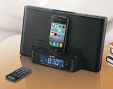 Klangkräftige Aufwachhilfe: das neue iPod/iPhone Dock von Sony.