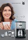 """wmf präsentierte diesen Herbst die sieben neuen Produkte der """"Genio""""-Serie - Ein siebenteiliges Küchensortiment in Voll-Edelstahl mit interessanten Features und zu einem guten Preis-Leistungsverhältnis."""