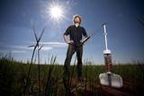 """Edward Linacre hat mit seinem Projekt """"Airdrop Irrigation"""" den James Dyson Award 2011 gewonnen."""
