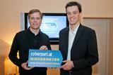 In der heutigen Pressekonferenz gaben Werner Weber, GF der Niedermeyer GmbH, und Olaf Siegel, GF der Cyberport GmbH, ihre Kooperation offiziell bekannt.