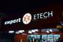 Nicht zu übersehen ist der neue Standort von Expert ETECH in Linz.