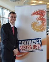 Sichtlich stolz präsentierte heute 3CEO Jan Trionow das Ergebnis des Connect Netztests.