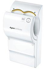 Der Dyson Airblade Händetrockner verbraucht im Vergleich zu Warmluft-Händetrocknern bis zu 80% weniger Energie.