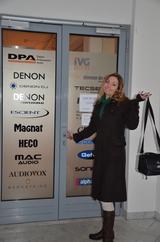 E&W Redakteurin Bettina Paur stand heute vor verschlossener Tür bei DPA.