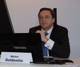Eine Weltpremiere konnte heute A1 CTO Walter Goldenits vorstellen: Mit Vektoring will der Betreiber die Übertragungsrate in Kupferleitungen erhöhen.