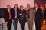 Die Herren Herbert Stohlhofer, Willi Fleischmann und Wolfgang Pelz werden von der Miele-Mannschaft umsorgt.