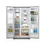 Wide open: Die neuen Kühlgeräte von Samsung punkten mit mehr Nutzinhalt bei gleichbleibenden Außenmaßen.