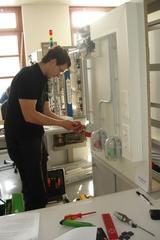 Leo Weinzinger von der Firma Elektro Kern GmbH konnte den 12. Landeslehrlingswettbewerb der OÖ Elektrotechniker für sich gewinnen.