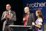 Matthias Kohlstrung, Leiter Vertrieb und Marketing bei Brother und Österreich-brother-Chef Helmut Pfeifenberger stellten den FH-Partner das Leasing-Modell vor.