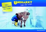 Unimarkt unterzieht sich einem Relaunch und will sich als Nahversorger für Lebensmittel, Haushaltsgeräte, Textilien usw präsentieren.