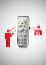 Mit SpeechExec wird das Diktiergerät einfach angedockt, die Diktate automatisch heruntergeladen und von einer Spracherkennungssoftware transkribiert.