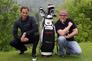 Golfprofi Marco Schmuck und der TV-Starkoch Stefan Marquard unterstützen die Teilnehmer am Green und am Herd.