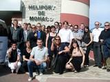 Die Teilnehmer der Future Expert 2020-Reise an die Cote d´Azure hatte auch Zeit für eine Heli-FLug über Monaco.