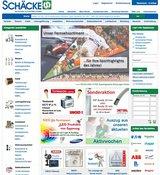 Der Schäcke web-shop bietet alle Informationen zu den neuen Produkten.