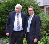 Bundesgremialobmann Wolfgang Krejcik und René Tritscher, GF der Bundessparte Handel, sind einer Meinung: Die geplante Festplattenabgabe ist nicht geeignet, um die Ansprüche der Künstler abzugelten.