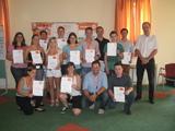 Expert-GF Alfred Kapfer gratulierte den Lehrlingen zur Absolvierung des dritten Moduls der Expert Lehrlingsakademie.