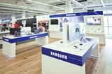 Auf 200 qm werden den Kunden im Media Markt Seiersberg die Produkte von Samsung präsentiert.