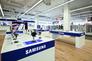 Gesondertes und Samsung-geschultes Personal soll hohe Beratungsqualität in der Großfläche garantieren.