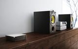Die Fidelio Wireless Hi-Fi Musikanlage von Philips besteht nur aus Lautsprechern und liefert dabei super Stereo-Sound.