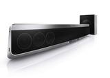 Die Fidelio Soundbar HTB9150 mit AmbiSound ist die bislang schlankste Blu-ray Soundbar von Philips.