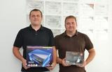 Johannes Nussthaler und Manfred Fürnkranz haben haben sich mit Blue 2 selbstständig gemacht.