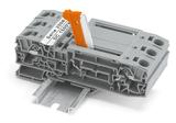 Für höhere Einsatzspannungen: Trenn-, Basis- und Durchgangsklemmen bis DC 1.500 V gemäß IEC geprüft.