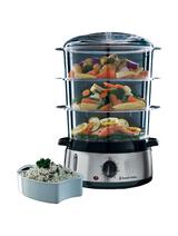 Mit dem Russell Hobbs Cook@Home Dampfgarer ist der Komplett-Verzicht auf Fett bei der Zubereitung von Speisen möglich.