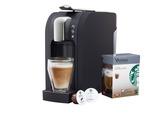 Starbucks Coffee Company führt mit dem Verismo System eine Ein-Tassen-Kaffeemaschine für den Privathaushalt ein. Vertriebskanal: Starbucks Kaffeehäuser & eigener Onlineshop.