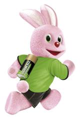 Das berühmte Duracell-Haserl soll Kunden daran erinnern, beim Kauf von elektronischen Geräten auch gleich an den Kauf der richtigen Duracell-Batterie zu denken.