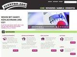 Um die Österreicher bei der Entsorgung von Elektroaltgeräten und Batterien zu unterstützen, wurde die neue Website www.elektro-ade.at gestaltet.