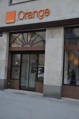 Der Orange-Shop am Stephansplatz (hier in einer Archivaufnahme) wird in Zukunft auch Samsung Multimedia-Lösungen bieten.