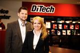 DiTech-Gründer Damian Izdebski und Aleksandra Izdebska nehmen Smart-TV von Sony und Samsung als nächste Computerklasse in ihr Angebot.