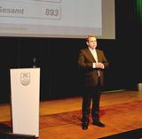 Beim EP:Kick-Off 2013 konnte Friedrich Sobol sehr erfreuliche Geschäftszahlen präsentieren.