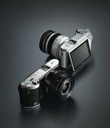Samsungs neue smarte Systemkamera NX300.