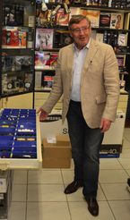Red Zac-Urgestein Willi Fleischmann wird im Kurier porträtiert (Foto: E&W).
