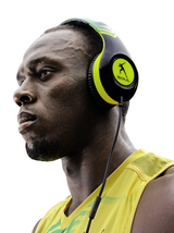Der Soul SL 300 im Stil von Usain Bolt...