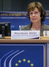 EU-Kommissarin Neelie Kroes will bereits 2014 die Grundlage für einen einheitlichen Mobilfunkmarkt schaffen.