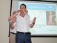 Über Motiviation von und Kommunikation mit Mitarbeiter sprach anschließend unkonventionell Prof, Dr, Johannes Steyrer.