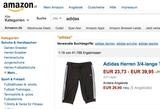 Immer mehr Sportartikelhersteller, wie zB. Adidas, wollen ihre Produkte nicht länger auf reinen Online-Marktplätzen wie zB Amazon sehen. (Foto: Screenshot Amazon)