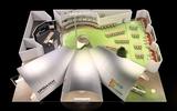 Auf insgesamt 920 Quadratmetern Ausstellungsfläche inszeniert Umdasch Shopfitting eine 360° Shoppingwelt ...