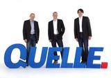 Die Quelle-Geschäftsführer Achim Güllmann, Harald Gutschi und Quelle-Markenmanager Reinhard Lengauer (v.l.). Foto: Quelle